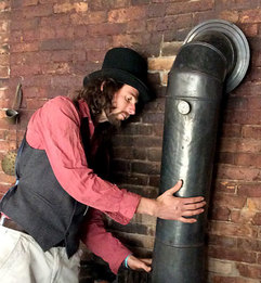 Inspecting a stovepipe
