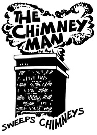 The Chimney man sweeps chimneys