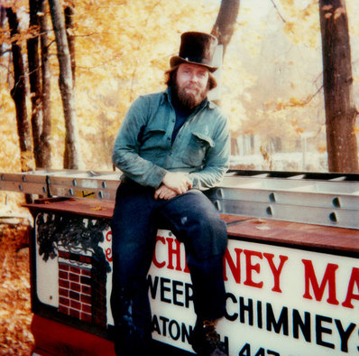Channing Snyder, the first Chimney Man